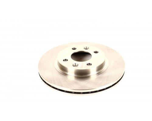 Тормозной диск передний (с ABS, D=259mm) Renault Kangoo / Nissan Kubistar 97-08 08-219 ZILBERMANN (Германия)