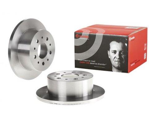 Тормозной диск задний (280x16мм, R15) Fiat Ducato / Citroen Jumper / Peugeot Boxer 2002-2006 08.8094.30 BREMBO (Италия)