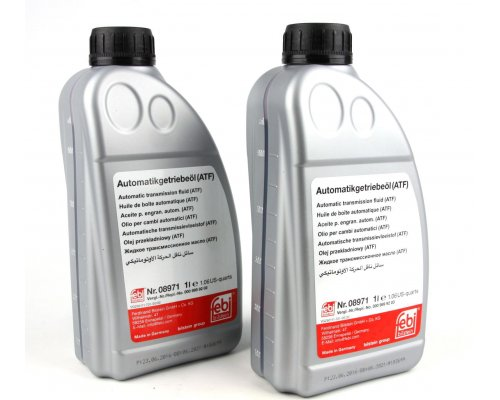 Жидкость ГУР (красная, 1л) 08971 FEBI (Германия)
