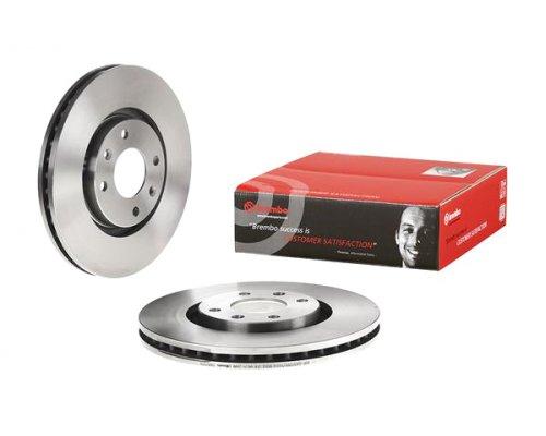 Тормозной диск передний (283x26мм) Peugeot Partner II / Citroen Berlingo II 2008- 09.9619.11 BREMBO (Италия)