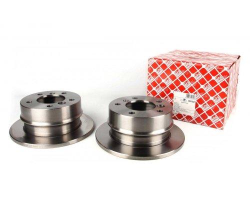 Тормозной диск задний (258х12мм) MB Sprinter 208-216 1995-2006 09102 FEBI (Германия)