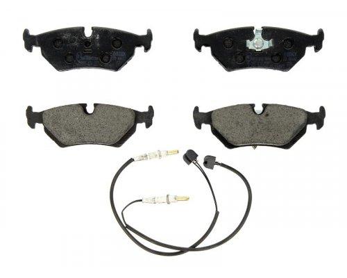Тормозные колодки задние (ATE, с датчиком) Fiat Scudo / Citroen Jumpy / Peugeot Expert 1995-2006 0986424027 BOSCH (Германия)