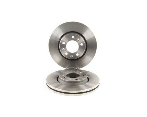 Тормозной диск передний (диаметр 280мм) Fiat Scudo II / Citroen Jumpy II / Peugeot Expert II 2007- 0986479266 BOSCH (Германия)
