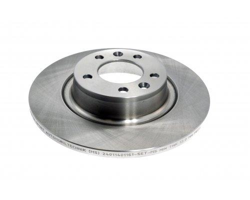 Тормозной диск задний Fiat Scudo II / Citroen Jumpy II / Peugeot Expert II 2007- 0986479379 BOSCH (Германия)
