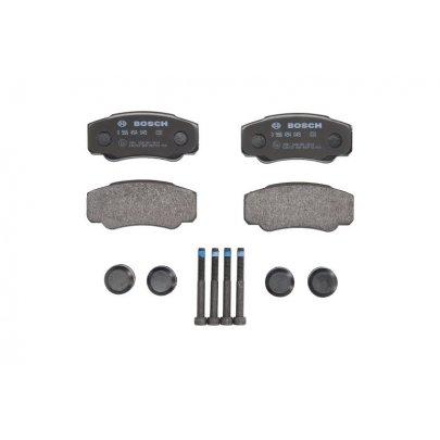 Тормозные колодки задние Fiat Ducato / Citroen Jumper / Peugeot Boxer 2002-2006 0986494049 BOSCH (Германия)