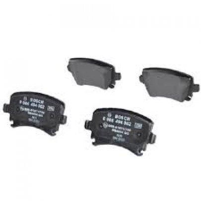Тормозные колодки задние без датчика (105.3х55.9х17.1mm) VW Caddy III 04- 0986494062 BOSCH (Германия)