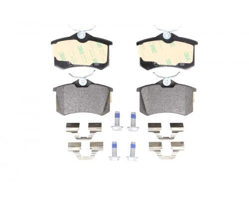 Тормозные колодки задние (LUCAS) Fiat Scudo / Citroen Jumpy / Peugeot Expert 1995-2006 0986494596 BOSCH (Германия)