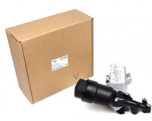 Корпус масляного фильтра (с радиатором, двигатель OM651) MB Sprinter 906 2.2CDI 2010- 1001824 AUTOTECHTEILE (Германия)