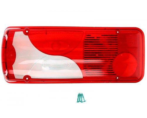 Стекло заднего фонаря левое (c бортовой платформой) VW Crafter 2006- 1008272 AUTOTECHTEILE (Германия)