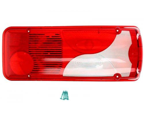 Стекло заднего фонаря правое (c бортовой платформой) VW Crafter 2006- 1008273 AUTOTECHTEILE (Германия)