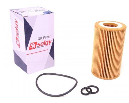 Масляный фильтр (двигатель: OM646) MB Sprinter 906 2.2CDI 2006- 101007 SOLGY (Испания)