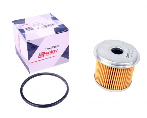 Фильтр топливный Fiat Scudo / Citroen Jumpy / Peugeot Expert 1.9D, 1.9TD 1995-2006 102018 SOLGY (Испания)