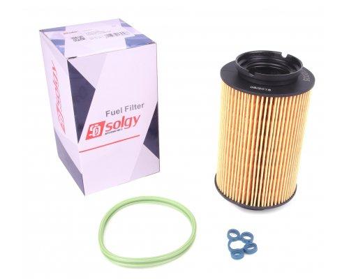Фильтр топливный (колба № 1K0127400B / C / E / J) VW Caddy III 1.9TDI / 2.0SDI 04- 102025 SOLGY (Испания)