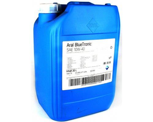 Полусинтетическое моторное масло Blue Tronic SAE 10w40 (20L) 10487 ARAL (Германия)