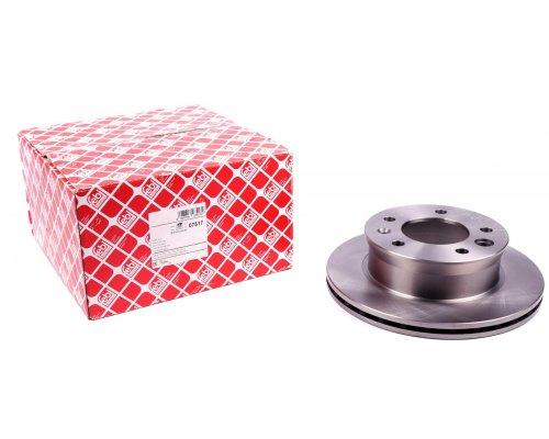 Тормозной диск передний (276х22мм) VW LT 28-46 1996-2006 07517 FEBI (Германия)