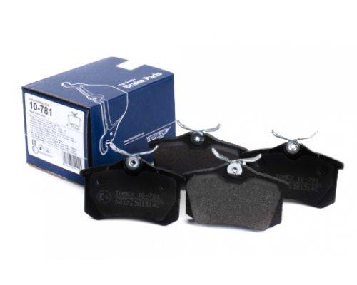 Тормозные колодки задние (LUCAS) Fiat Scudo / Citroen Jumpy / Peugeot Expert 1995-2006 10781 TOMEX (Польша)