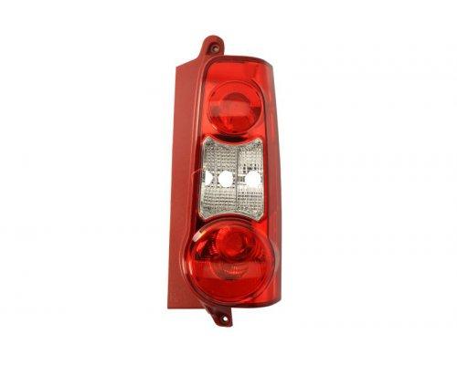Фонарь задний правый (красный, распашонка) Peugeot Partner II / Citroen Berlingo II 2008- 11-11381-01-2 TYC (Тайвань)