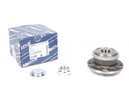 Подшипник ступицы задний (ступица, с ABS) Fiat Scudo / Citroen Jumpy / Peugeot Expert 1995-2006 11-147500018 MEYLE (Германия)