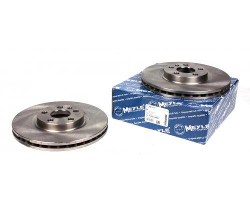 Тормозной диск передний (281x26мм) Fiat Scudo / Citroen Jumpy / Peugeot Expert 1995-2006 11-155210006 MEYLE (Германия)
