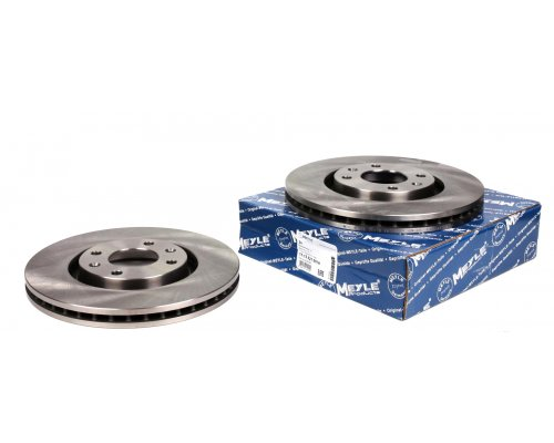 Тормозной диск передний (283x26мм) Peugeot Partner II / Citroen Berlingo II 2008- 11-155210018 MEYLE (Германия)