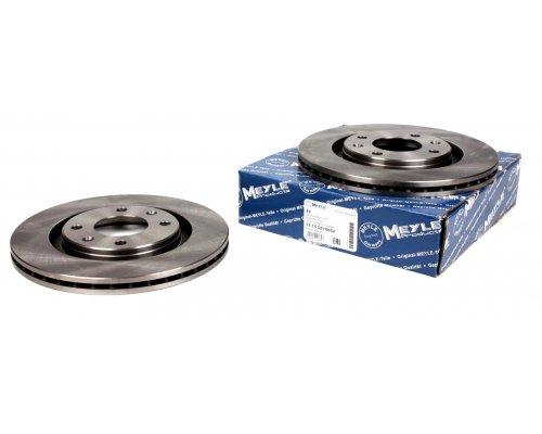 Тормозной диск передний вентилируемый (266x20.5mm) Peugeot Partner / Citroen Berlingo 1996-2011 11-155210032 MEYLE (Германия)