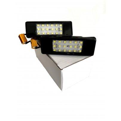 Подсветка номера (LED, комплект 2шт) MB Sprinter 906 2006- 111002 BS Auto (КНР)