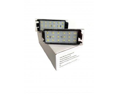 Подсветка номера (LED, комплект 2шт) Renault Master II / Opel Movano 1998-2010 111003 BS Auto (КНР)