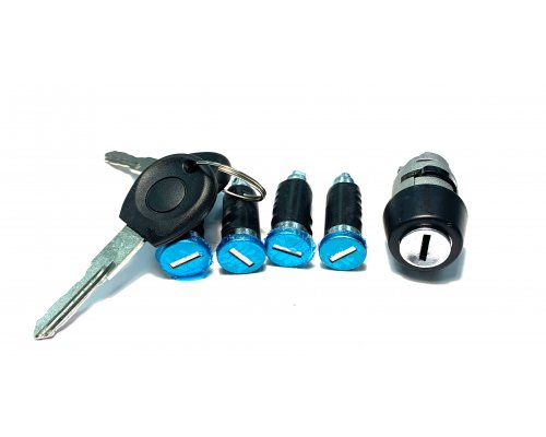 Личинки замка двери / зажигания (комплект 4шт) VW Transporter T4 90-03 111007 BS Auto (КНР)