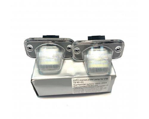 Подсветка номера (LED, комплект 2шт) VW Transporter T4 1990-2003 111010 BS Auto (КНР)
