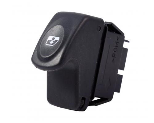 Кнопка стеклоподъемника (6 контактов) Renault Kangoo 1997-2008 111012 BS Auto (КНР)
