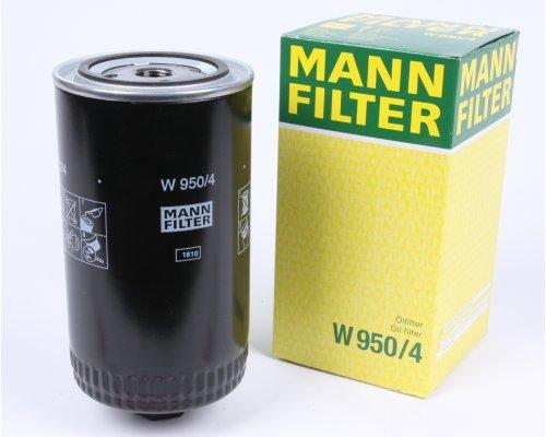 Фильтр масляный VW Transporter T4 2.5 / 2.4D / 2.5TDI 90-03 W950/4 MANN (Германия)