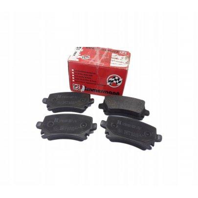 Тормозные колодки задние без датчика (105.3х55.9х17.1mm) VW Caddy III 04- 239141701 ZIMMERMANN (Германия)