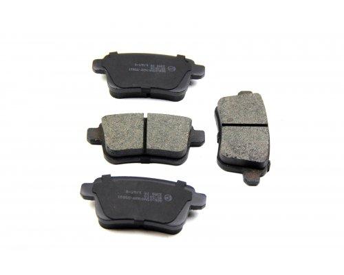 Тормозные колодки задние Renault Kangoo II / MB Citan 2008- RD.24692STD RIDER (Венгрия)