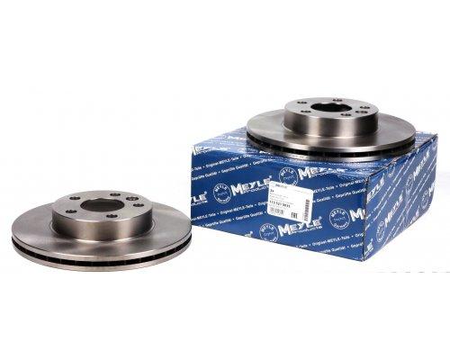 Тормозной диск передний вентилируемый (R15, 280x24mm) VW Transporter T4 90-03 1155210035 MEYLE (Германия)