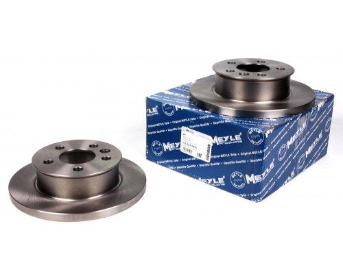Тормозной диск передний сплошной (R14, 260x16mm) VW Transporter T4 90-96 1155211015 MEYLE (Германия)