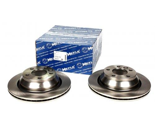 Тормозной диск задний (ATE, 314x22mm) VW Transporter T5 03- 1155231116 MEYLE (Германия)