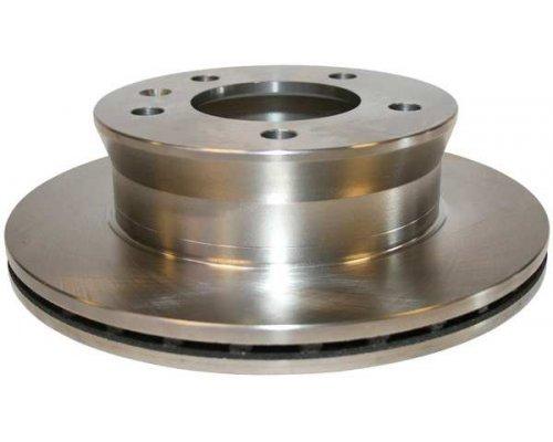 Тормозной диск передний (276х22мм) VW LT 28-46 1996-2006 1163101900 JP GROUP (Дания)