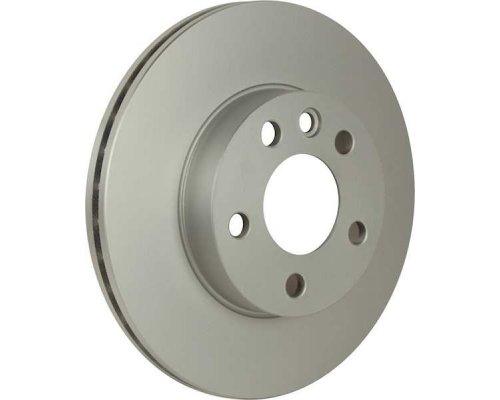 Тормозной диск передний вентилируемый (R15, 280x24mm) VW Transporter T4 90-03 1163111500 JP GROUP (Дания)
