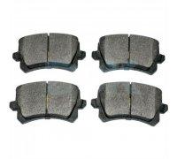 Тормозные колодки задние без датчика (105.3х55.9х17.1mm) VW Caddy III 04- 1163706610 JP GROUP (Дания)