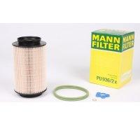 Фильтр топливный (колба № 1K0127400B / C / E / J) VW Caddy III 1.9TDI / 2.0SDI 04- PU936/2X MANN (Германия)