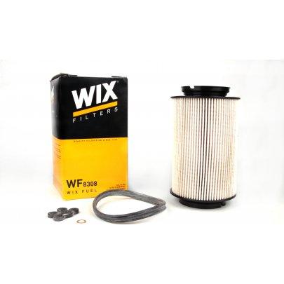 Фильтр топливный (колба № 1K0127400B / C / E / J) VW Caddy III 1.9TDI / 2.0SDI 04- WF8308 WIX (Польша)