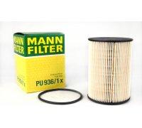 Фильтр топливный (колба № 1K0127400K) VW Caddy III 1.6TDI / 1.9TDI / 2.0SDI 04- PU936/1X MANN (Германия)