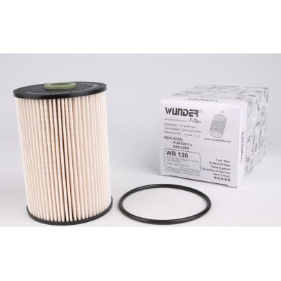 Фильтр топливный (колба № 1K0127400K) VW Caddy III 1.6TDI / 1.9TDI / 2.0SDI 04- WB-126 WUNDER (Турция)