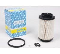 Фильтр топливный (колба № 1K0127400B / C / E / J) VW Caddy III 1.9TDI / 2.0SDI 04- C505 PURFLUX (Франция)