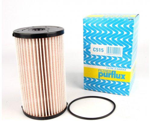 Фильтр топливный (колба № 3C0127400C) VW Caddy III 1.6TDI / 1.9TDI / 2.0SDI / 2.0TDI 04- C515 PURFLUX (Франция)