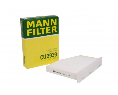 Фильтр салона VW Caddy III 2004- CU2939 MANN (Германия)