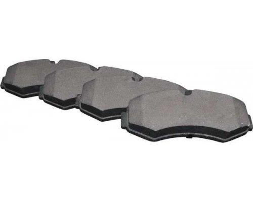 Тормозные колодки передние без датчика (система BOSCH) MB Vito 638 1996-2003 1363602210 JP GROUP (Дания)