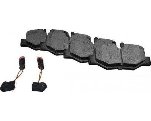 Тормозные колодки задние (с датчиком) MB Vito 639 2003- 1363701910  JP GROUP (Дания)