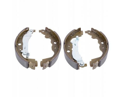 Тормозные колодки задние (барабанные) Renault Kangoo II / MB Citan 2008- 1363901710 JP GROUP (Дания)