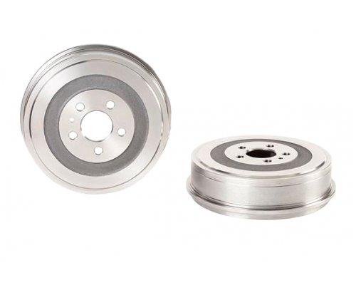 Тормозной барабан задний (d=255мм) Fiat Scudo / Citroen Jumpy / Peugeot Expert 1995-2006 14.7077.10 BREMBO (Италия)